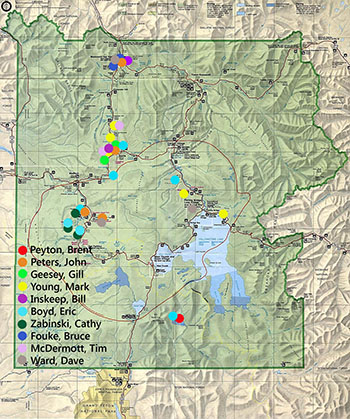 West Yellowstone Map